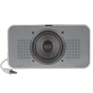 One Bass Speaker