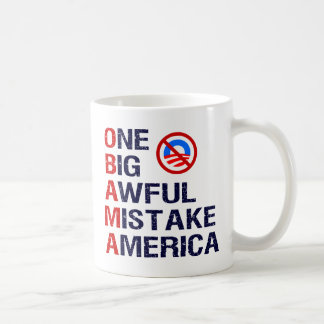 One Big Awful Mistake, America Coffee Mugs