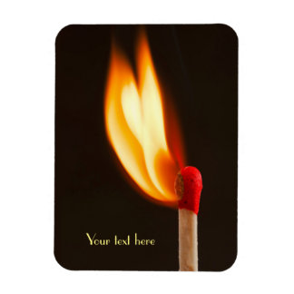 One Blazing Flame Magnet