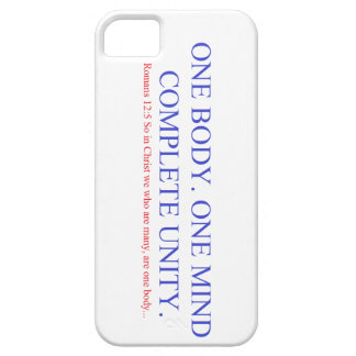 One Body. One Mind. iPhone 5 Cases