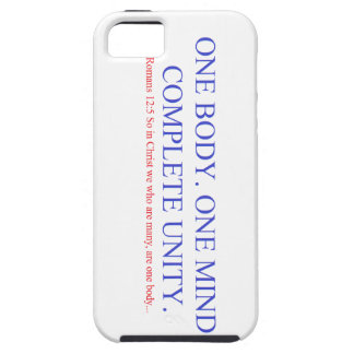 One Body. One Mind. Tough iPhone 5 Case