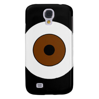 One Brown Eye Galaxy S4 Cover