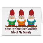 One By One The Gnomes Card