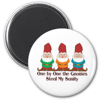 One By One The Gnomes Magnets