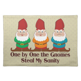 One By One The Gnomes Placemat
