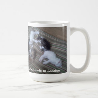 One cat leads to another Mug