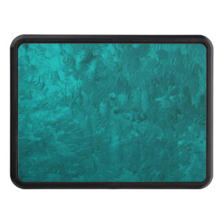 one color painting aqua tow hitch cover