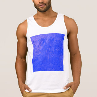 one color painting blue tanktops
