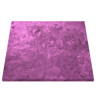 one color painting pink stretched canvas prints