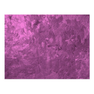 one color painting pink post card