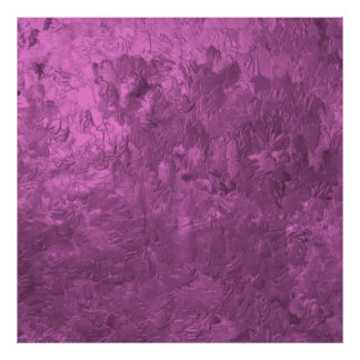 one color painting pink poster