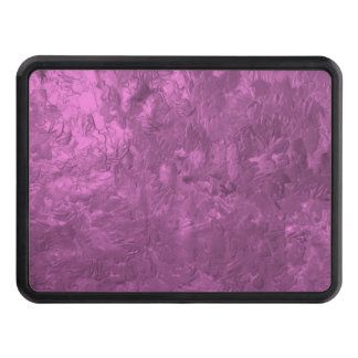 one color painting pink tow hitch covers