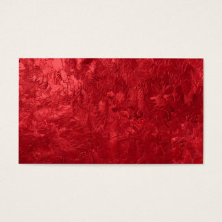 one color painting,red business card