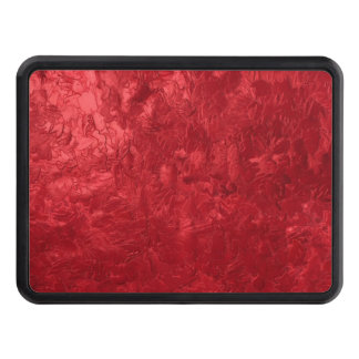 one color painting red hitch cover