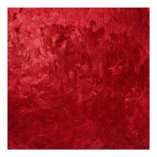 one color painting red posters