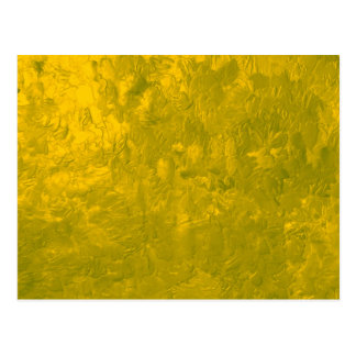 one color painting yellow post cards
