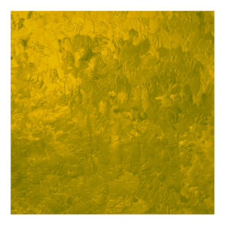 one color painting yellow print