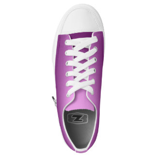 One Color Plain Gradient Pink Low Tops