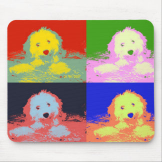 ~ One Colorful Cavachon ~ Mouse Pad