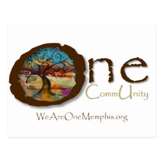 One CommUnity with Bonnie Gravette of Berkana Blue Postcard