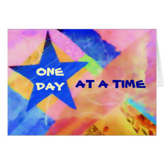 """One Day at a Time """"Blue Star"""" card"""