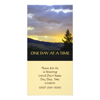 One Day at a Time Picture Card