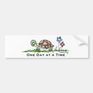 One Day at a Time (Recovery) Bumper Sticker