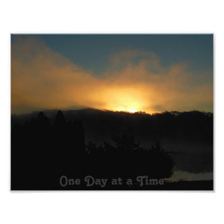 One Day at a Time Smokey Sunrise Kodak Photo