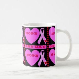 ONE DAY HOPE ,CANCER MUG ,CUP