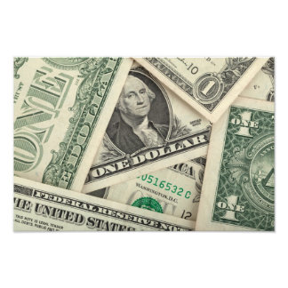 One Dollar Bills Photo