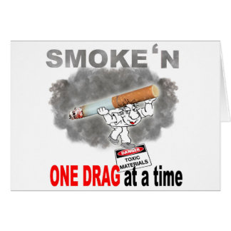 ONE DRAG AT ATIME_1 CARD