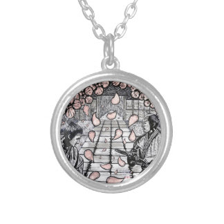 One Draw By Carter L. Shepard Silver Plated Necklace