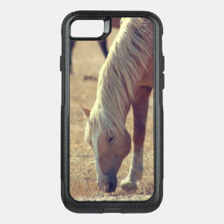 ONE EARED PALOMINO WILD HORSE OTTER CASE