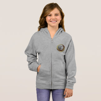 One Euro Coin Girls Hoodie