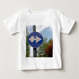 One euro one way baby T-Shirt