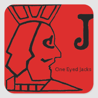One Eyed Jacks Sticker
