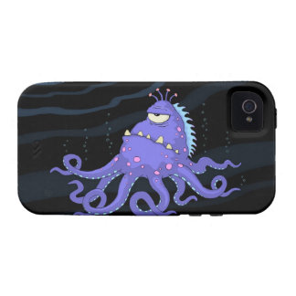 One Eyed Octopus Sea Creature iPhone 4/4S Case