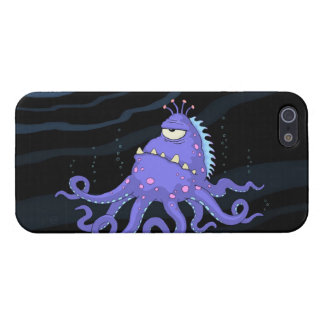 One Eyed Octopus Sea Creature Covers For iPhone 5