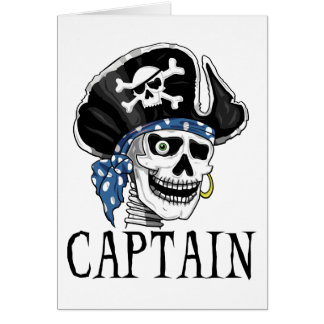 One-eyed Pirate Captain Card