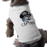 One-eyed Pirate Captain Sleeveless Dog Shirt