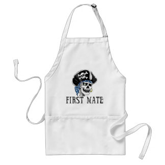 One-eyed Pirate First Mate Apron