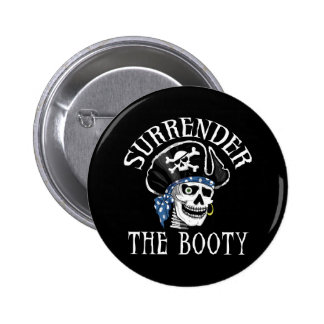 One-eyed Pirate Skull and Crossbones Pins