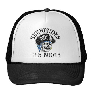 One-eyed Pirate Skull and Crossbones Mesh Hat
