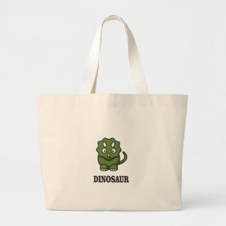 one fine dino large tote bag