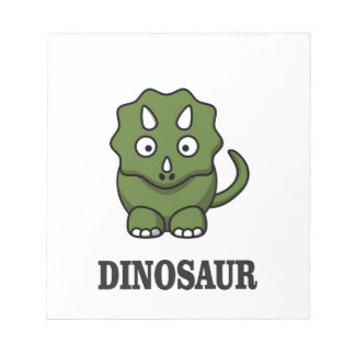 one fine dino notepads