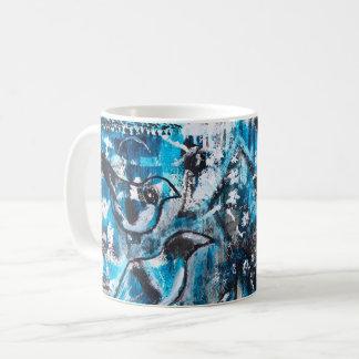 """One for Sorrow, Two for Joy"" Acrylic Art Mug"
