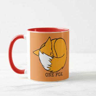 One Fox, Two Fox Mug