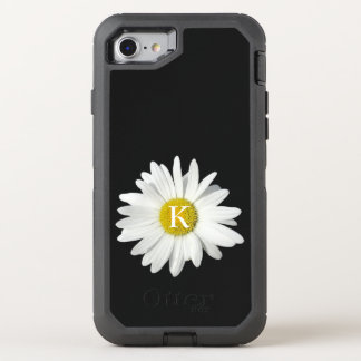 One Fresh Daisy and Initial OtterBox Defender iPhone 8/7 Case