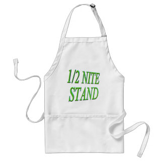 One Half Night Stand Funny T-shirts Gifts Standard Apron