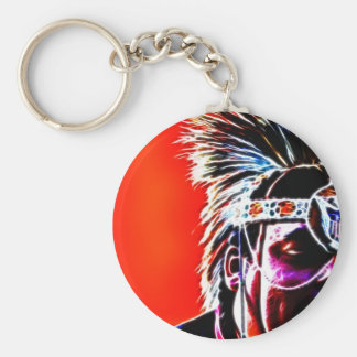 One Half of the Whole II Basic Round Button Key Ring